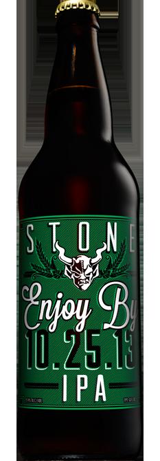 stone brewing enjoy by IPA